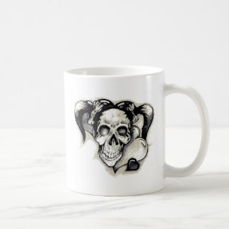 Chica muerto del punk rock taza de café