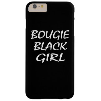 Chica negro de la vela funda de iPhone 6 plus barely there