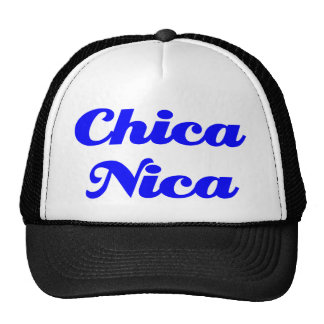 Chica Nica Gorro De Camionero
