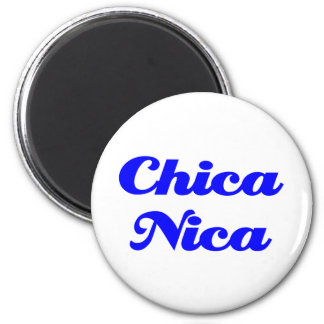 Chica Nica Magnet