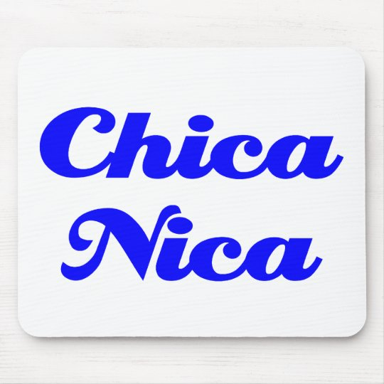 Chica Nica Mouse Pad