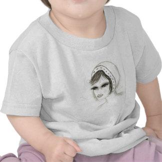Chica nupcial de Deco Camiseta
