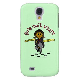 Chica oscuro de CSI Samsung Galaxy S4 Cover