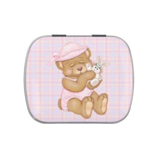 Chica Pascua de ProductTeddy del personalizar Jarrones De Caramelos