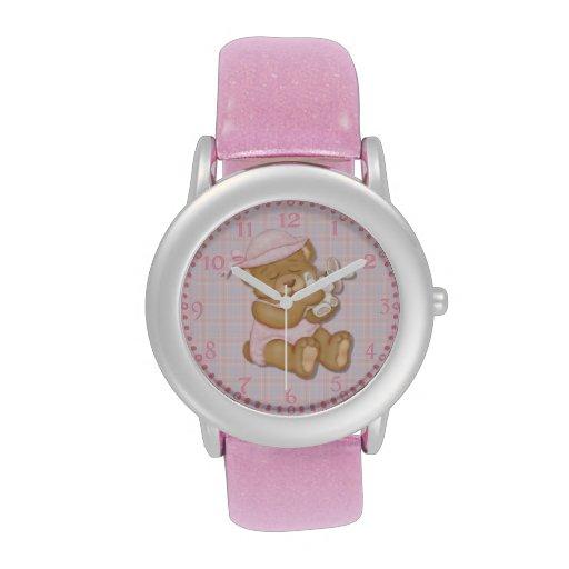 Chica Pascua de ProductTeddy del personalizar Reloj