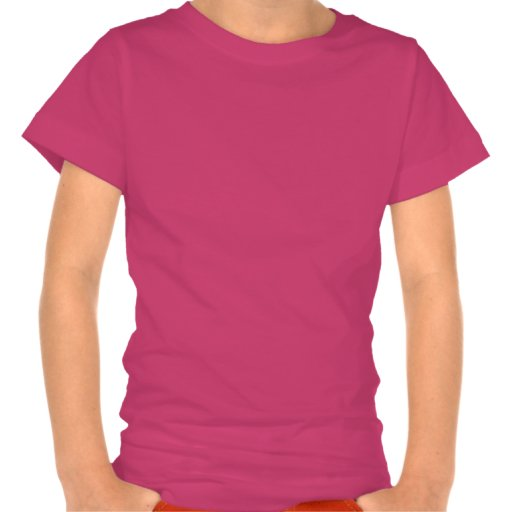 Chica Pascua del peluche Camiseta