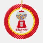 Chica personalizado lindo Gumball del ornamento Ornamentos De Reyes