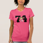 chica pink.png del softball 74 camisetas