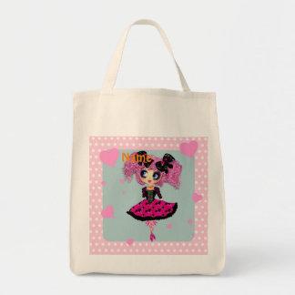 Chica PinkyP - princesa de Kawaii del baile de fin Bolsa Tela Para La Compra