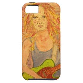 Chica popular de la roca iPhone 5 funda