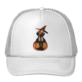 CHICA PUNKY de la CALABAZA 3D - ORIGINAL Gorras