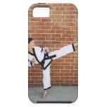 Chica que hace los artes marciales 2 iPhone 5 carcasa