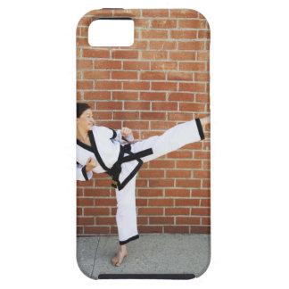 Chica que hace los artes marciales 2 funda para iPhone SE/5/5s