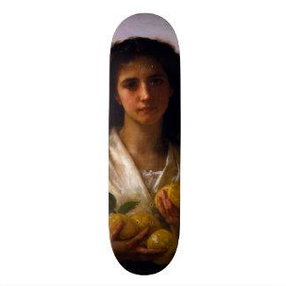 Chica que sostiene los limones de William-Adolphe Patinetas Personalizadas