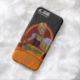 Chica retro de Oktoberfest Waitres del Grunge Funda De iPhone 6 Barely There