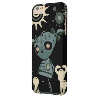 Chica robótico funda para iPhone 6 plus barely there