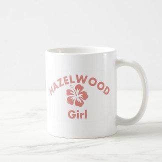 Chica rosado de Hazelwood Taza