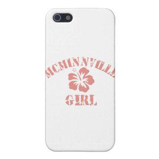 Chica rosado de Mcminnville iPhone 5 Funda