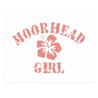 Chica rosado de Moorhead Postal