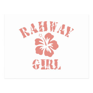 Chica rosado de Rahway Postal