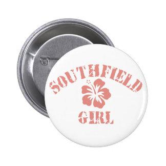 Chica rosado de Southfield Chapa Redonda 5 Cm