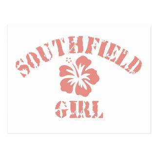 Chica rosado de Southfield Postal