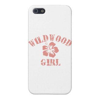 Chica rosado de Wildwood iPhone 5 Protector