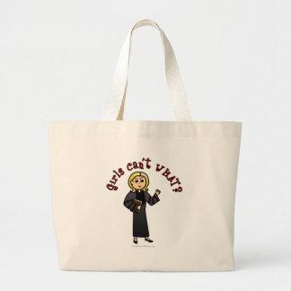 Chica rubio del pastor bolsas