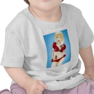 Chica rubio del Rockabilly Camiseta