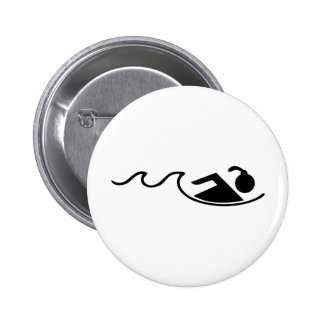 chica schwimming pin