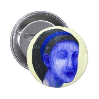 Chica sin la cara (realismo surrealista) pins