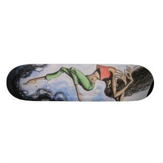 """""""Chica"""" SKEATBOARD del cometa Skateboard"""