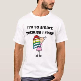 Chica Smart porque leí las camisetas y los regalos