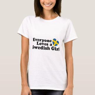 Chica sueco playera