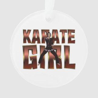 Chica SUPERIOR del karate
