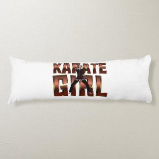 Chica SUPERIOR del karate Cojin Cama