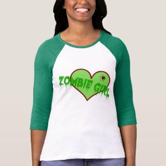 ¡Chica T del zombi! Camiseta