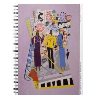 """""""Chica-Talkin' después"""" cuaderno de cinco"""