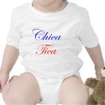 Chica Tica Camisetas
