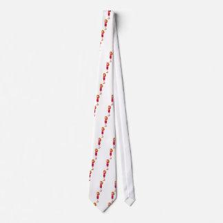 Chica trastornado corbata