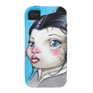 Chica triste vibe iPhone 4 funda