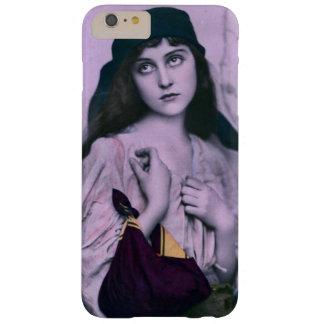 Chica triste lindo del gitano de los ojos funda barely there iPhone 6 plus