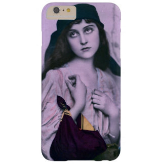 Chica triste lindo del gitano de los ojos funda de iPhone 6 plus barely there
