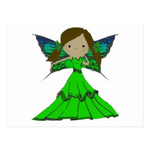 Chica Trixie del duendecillo Postales
