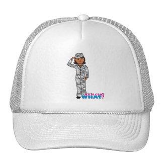 Chica urbano del ejército gorra