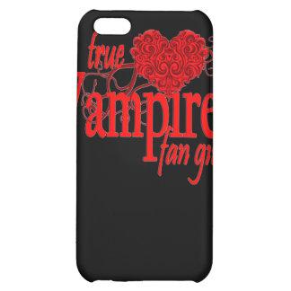 Chica verdadero de la fan del vampiro