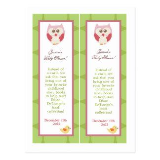 Chica Woodl del amor y de la naturaleza de 2 señal Tarjetas Postales