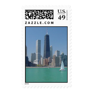 Chicago25 Postage Stamps