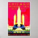 Chicago 1911 Worlds Fair Poster