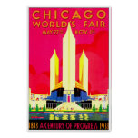 Chicago 1911 Worlds Fair Poster